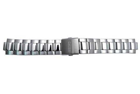 Genuine Seiko Stainless Push Button Fold Over Clasp 21mm Watch Bracelet