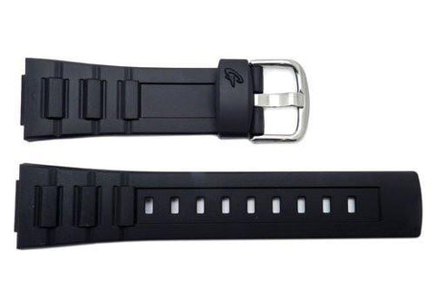 Genuine Casio Baby G Black Resin 23/14mm Watch Strap