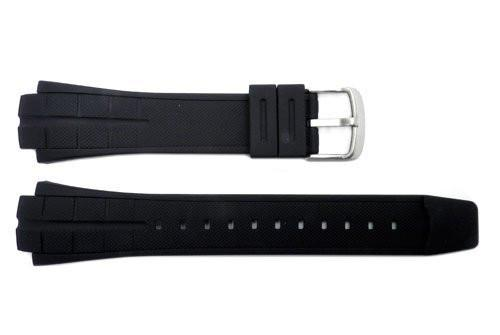 Genuine Casio Black Resin 16mm Watch Strap