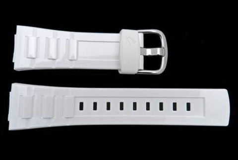 Genuine Casio Baby G White Resin 22/14mm Watch Strap