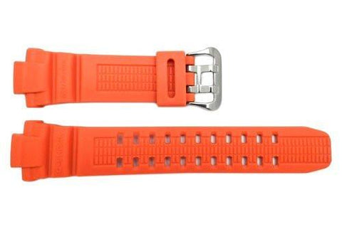 Genuine Casio G-Shock Orange Resin 26/15mm Watch Band