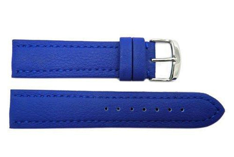 Hadley Roma Genuine Lorica Blue Self-Lined Heavy Padded Watch Band