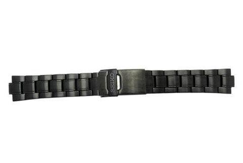 Genuine Seiko Tachy Chrono Black Tone 20mm Watch Bracelet