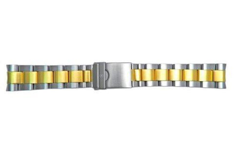 Genuine Swiss Army Maveric GS Dual Tone 22mm Watch Bracelet