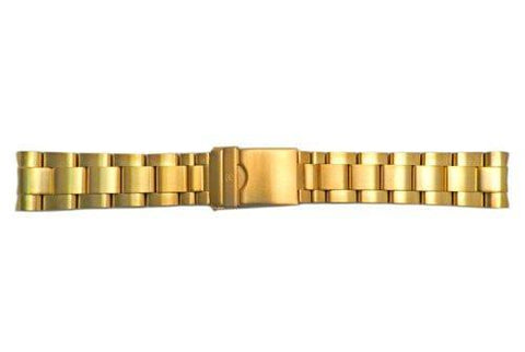 Genuine Swiss Army Maveric GS Gold Tone 22mm Watch Bracelet