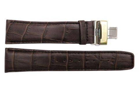 Genuine Citizen Brown Textured Leather 23mm Eco-Drive Watch Strap