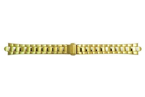 Genuine Citizen Ladies Gold Tone Eco Drive 15mm Watch Bracelet