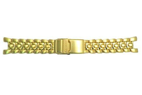 Genuine Citizen Gold Tone 23mm Solar-Tech Watch Bracelet