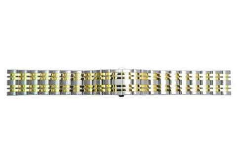 Genuine Citizen Dual Tone Eco Drive 20mm Watch Bracelet