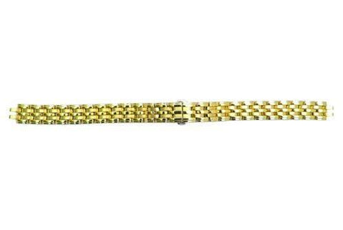 Genuine Citizen Ladies Gold Tone 10mm Watch Bracelet