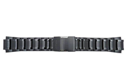 Genuine Citizen Black Tone 24mm Watch Bracelet
