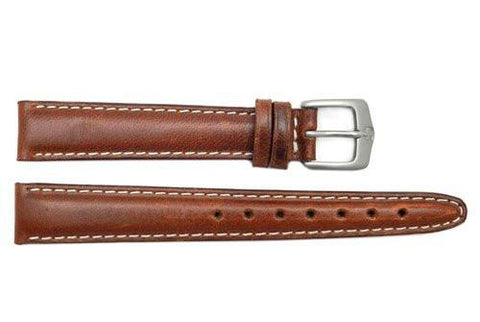 Genuine Wenger Ladies Brown Field Issue 14mm Leather Watch Strap