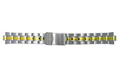 Genuine Wenger Alpine Pilot Series Dual Tone 20mm Watch Bracelet
