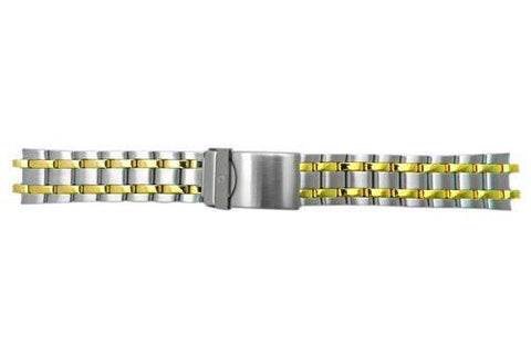 Genuine Wenger Standard Issue Dual Tone 20mm Watch Bracelet