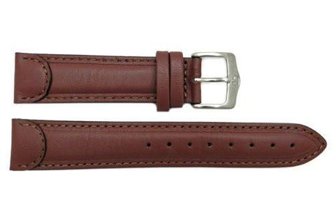 Genuine Wenger Unisex Brown 20mm Leather Watch Strap