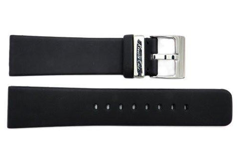 Genuine Kenneth Cole Black Polyurethane 22mm Watch Band