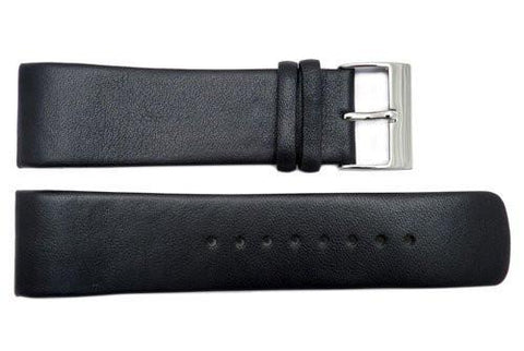Genuine Kenneth Cole Black 26mm Leather Watch Strap