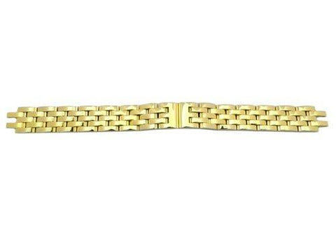 Genuine Citizen Ladies Polished Gold Tone Eco Drive Watch Bracelet