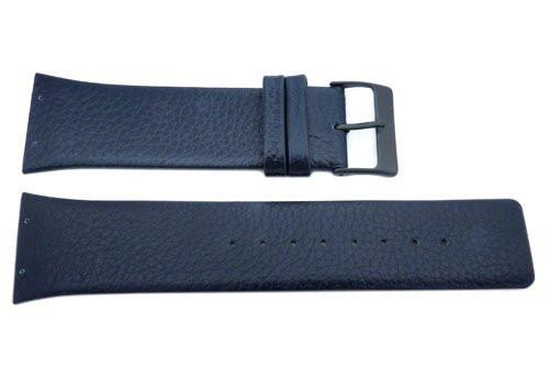 Genuine Skagen Navy Blue Genuine Leather 26mm Watch Strap - Screws