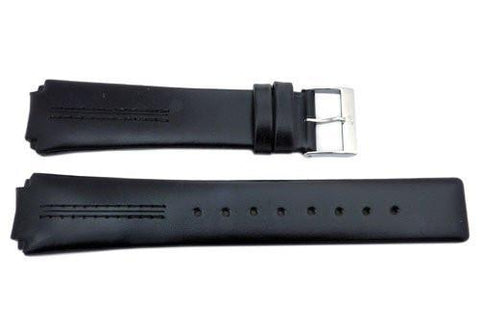 Genuine Skagen Smooth Black 22mm Watch Strap - Pins