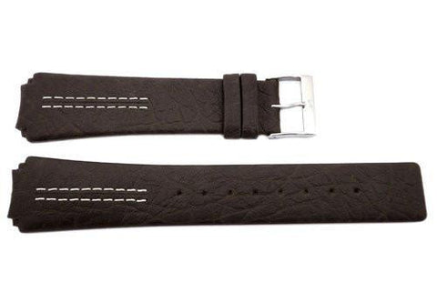Genuine Skagen Dark Brown Ultra Slim Watch Strap - Pins