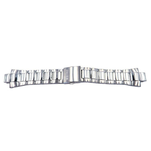 Genuine Seiko Stainless Steel Push Button Fold-Over Clasp 25mm Watch Bracelet