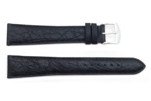 ZRC Genuine Buffalo Leather Waterproof Anti-Allergic Long Watch Strap