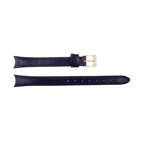 Genuine Skagen 12mm Womens Dark Brown Watch Strap - Screws