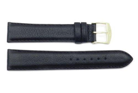 ZRC Genuine Buffalo Leather Waterproof Anti-Allergic Watch Band