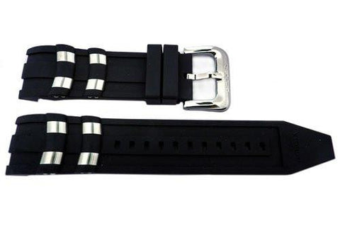 Genuine Invicta Pro Diver Mens Polyurethane Black 26mm Watch Strap