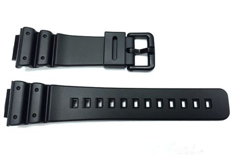 Genuine Casio G-Shock Series Black Resin 16/26mm Watch Strap