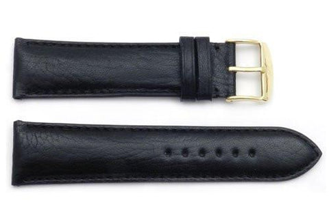 ZRC Genuine Smooth Soft Texas Calfskin Leather Anti-Allergic Watch Band