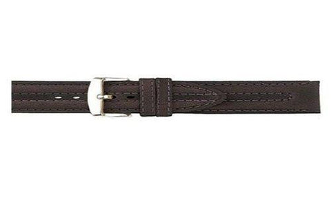Hadley Roma Brown Oil-Tan Leather Watch Band