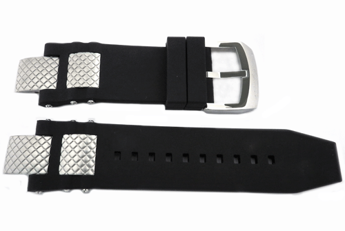 Genuine Invicta Subaqua Noma III Mens Polyurethane Black 28mm/16mm Watch Band