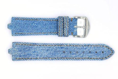 Genuine Movado 20mm Vintage Denim Watch Strap