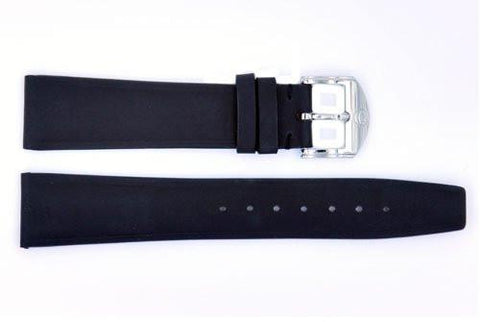 Genuine Movado 19mm Black Glove Leather Watch Strap