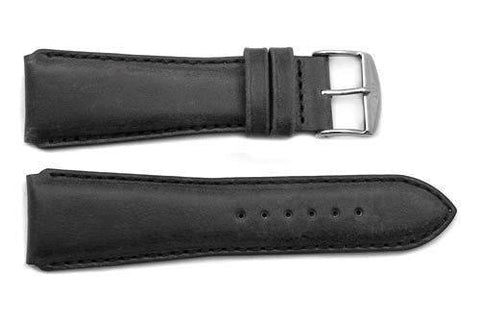 ZRC Genuine Smooth Soft Handmade Cow Leather Watch Band