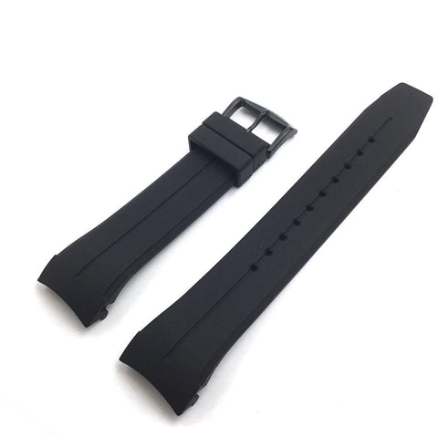 CITIZEN WATCH BAND BLACK RUBBER PART # 59-R50158
