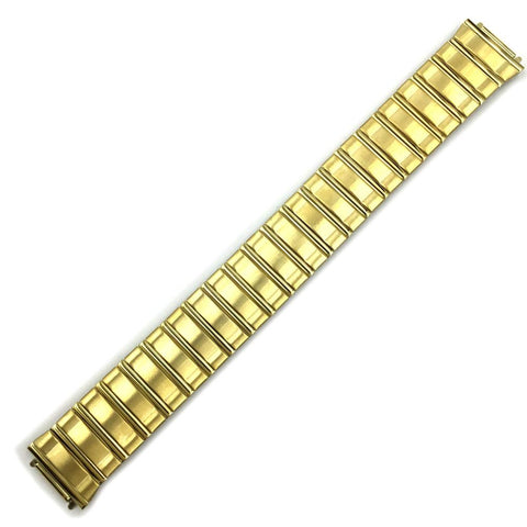 CITIZEN WATCH BRACELET 16MM EXPANSION GOLD TONE STAINLESS STEEL