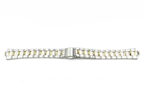 Genuine Citizen Ladies Eco-Drive 15mm Dual Tone Watch Bracelet