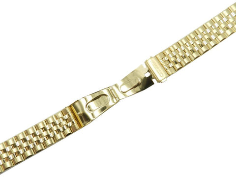Citizen Corso 22mm Gold Tone Stainless Steel Bracelet Watch Band image