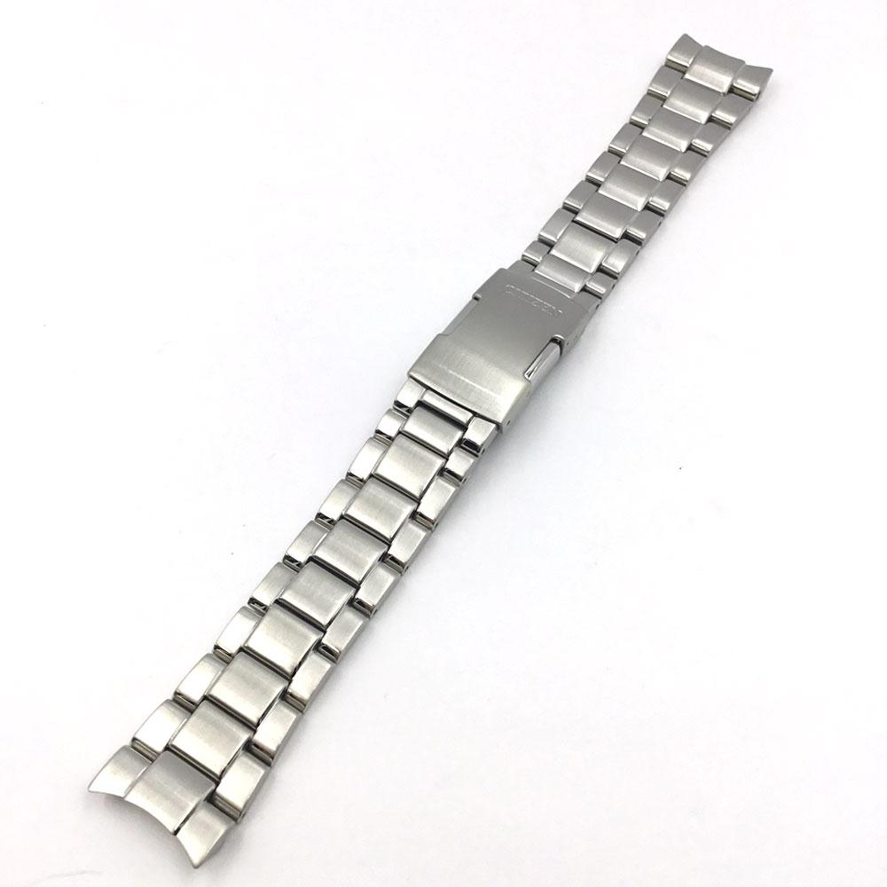 CITIZEN WATCH BRACELET SILVER TONE STAINLESS STEEL PART # 59-S03665