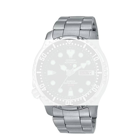 Citizen Watch Bracelet Silver Tone Stainless Steel Part