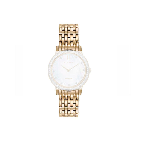 CITIZEN GOLD TONE STAINLESS STEEL BRACELET EX1483 image