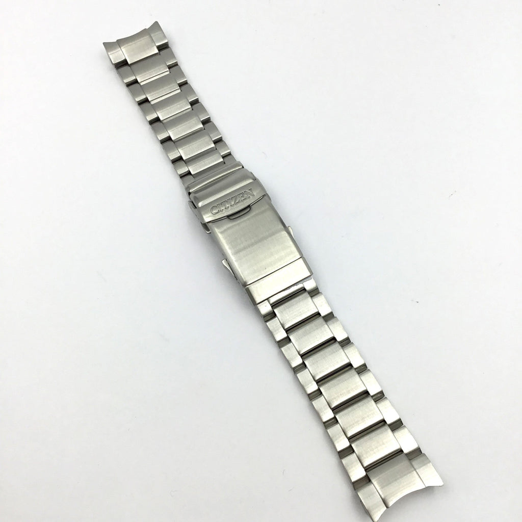 CITIZEN WATCH BRACELET SILVER TONE STAINLESS STEEL PART # 59-S07298