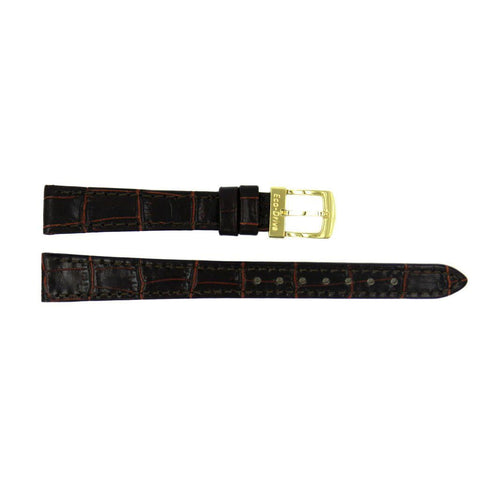 Genuine Citizen Eco-Drive Brown Alligator Grain 13mm Watch Strap