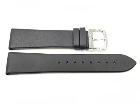 Genuine Citizen Eco-Drive Black 21mm Smooth Leather Watch Strap
