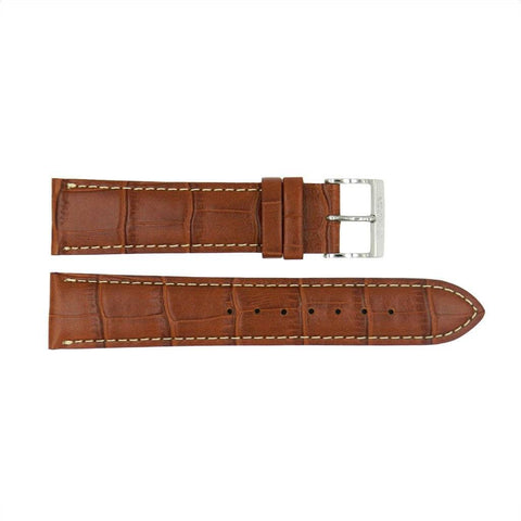 Genuine Citizen Alligator Grain 20mm Tan Leather Watch Strap