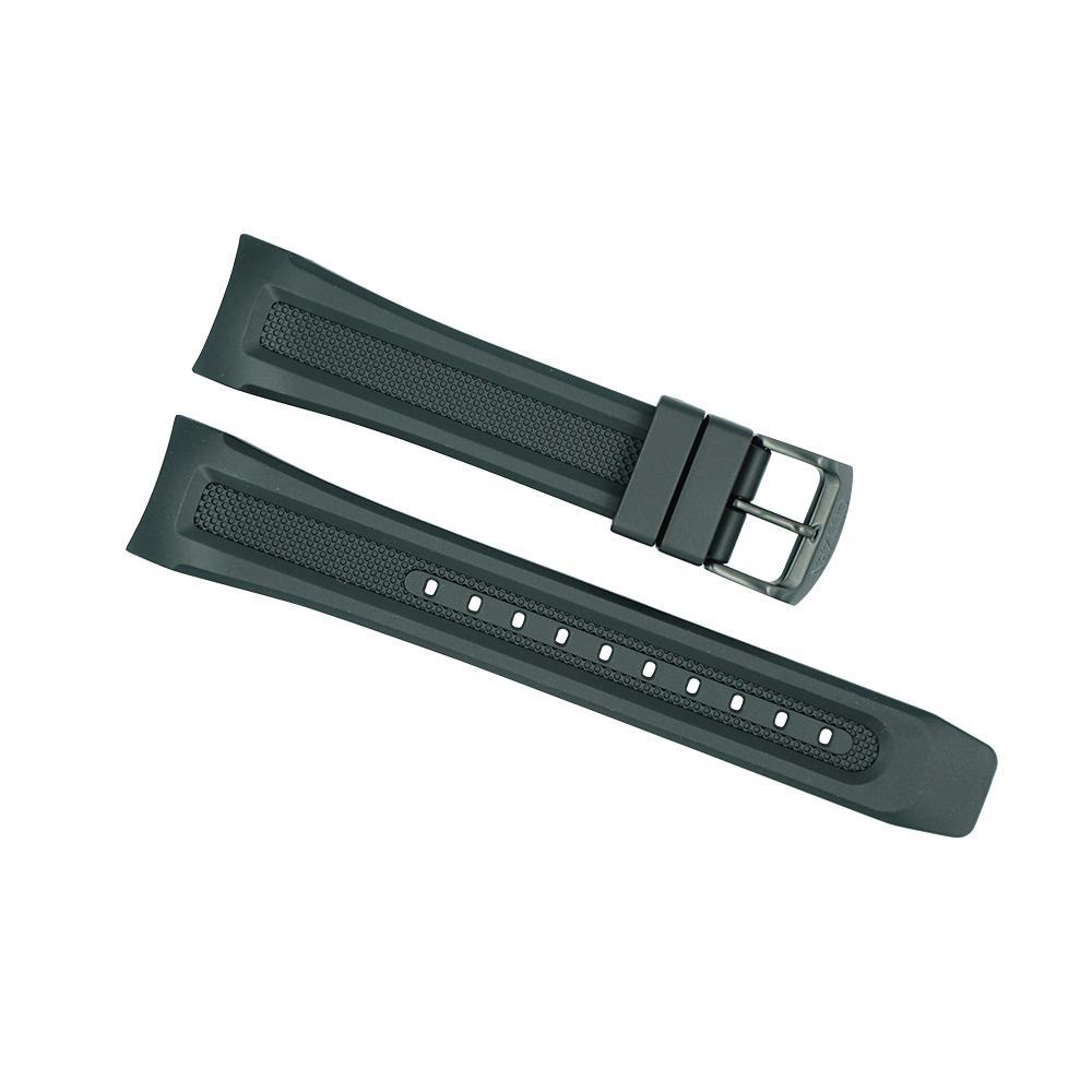 Citizen 22mm Black Rubber Proximity Strap