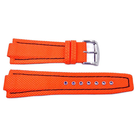 Genuine Citizen Orange Nylon 26/20mm Watch Strap